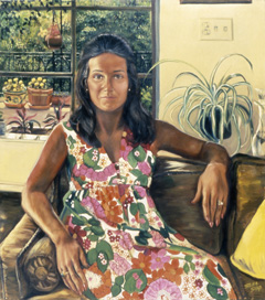 Sylvia Shap Realist Artist: Portrait of 'Carol Chess'